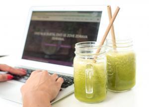 unos vitamina-Iceberg Salat Centar-smoothie